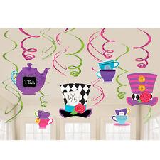 Sombrerero Loco Alicia en el país de las maravillas Tea Party tema tarde Tea Party Remolinos