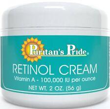 Retinol Cream (Vitamin A 100,000 IU Per Ounce) ( 2 oz Cream 56 g )