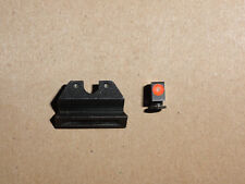 Preowned Trijicon GL101O HD Glock Night Sight Orange Front Outline