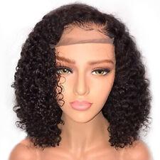 Frente de encaje Pelucas Pelo Rizado Corto Bob pelucas brasileño pelucas de Cabello para Mujeres Negras