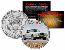 1967 SHELBY GT500E SUPER SNAKE Expensive Auction Muscle Car JFK Half Dollar Coin