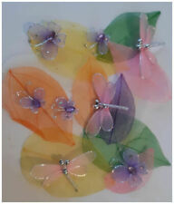 Butterfly Dragonfly & Leaves Pack DIY Crafts and Scrapbooking a b