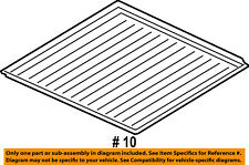 FORD OEM 09-18 Flex Interior-Rear-Liner 9A8Z7411600AA