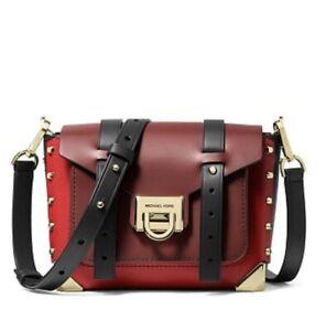 NWT Michael Kors Manhattan Small Color Block Messenger Bag Orig. $298