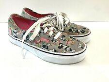 VANS Shoes Disney Authentic MINNIE MOUSE Digital Roses Women's Size 5.5 /Men's 4