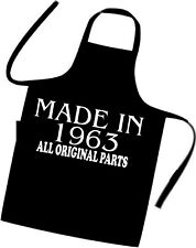 Birthday Gift Idea Cooks Apron Made In 1963 All Original Parts Excellent Gift