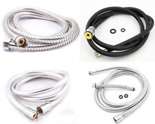 STAINLESS STEEL 1.5 M FLEXIBLE BATHROOM SHOWER HEAD HOSE PIPE KITCHEN PULL OUT