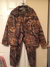 Cabelas GORETEX WHITETAIL MENS Hunting Jacket and Pant/Bibs MINT SZ XXL/ XL USA