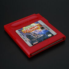 Advance Castlevania II Belmont's Revenge GBC Game Card Gift Children Red