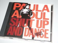 PAULA ABDUL SHUT UP AND DANCE CD 1990 MIT KNOCKED OUT / ONE OR THE OTHER (YZ)