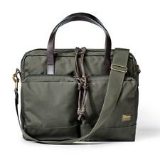 """Filson Dryden Briefcase 49878 Otter Green 20049878 Fits Laptops up to 15"""""""