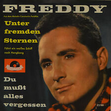 "FREDDY - MENOS DE EXTRAÑOS STERNEN / DU BUSST ALLES VERGESSEN 7""SINGLE (G 692)"