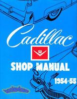 CADILLAC SHOP MANUAL SERVICE REPAIR 1954 1955 BOOK