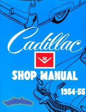 CADILLAC SHOP MANUAL SERVICE REPAIR 1954 1955 BOOK