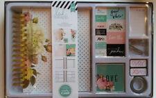 Heidi Swapp Memory Planner Kit 1044 Floral Theme Mothers Day Birthday Album New