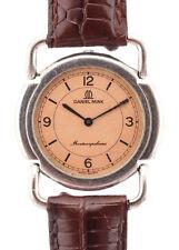 Daniel Mink Silver Tone Metal Montenapoleone Vintage Wrist Watch