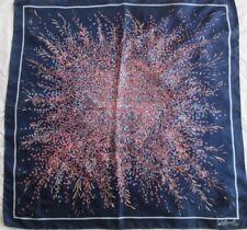 Joli foulard en soie OSTINELLI TBEG  vintage Scarf 80 cm x 80 cm scarf
