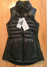 NWT Lululemon Down For a Run Vest Size 2 Gator Green GTRG MSRP $148 With Bag