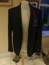 """Marks And Spencer BNWT Mens Suit  Jacket 42"""" Chest Blue Black"""