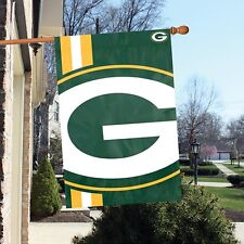 Green Bay Packers 24 x 36 Bold Logo Banner Flag