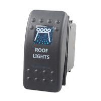 KFZ 12V 20A Wippschalter Wippenschalter LED beleuchtet Einbauschalter Roof