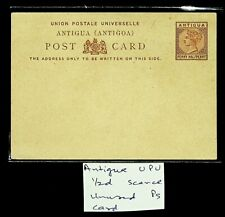 ANTIGUA 0.5d QV UPU SCARCE UNUSED POSTAL STATIONERY CARD