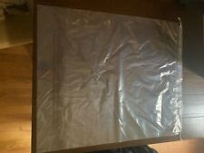 Double Drawstring Clear Poly Plastic Bags 2mil 20x24 High Clarity 100 Bags