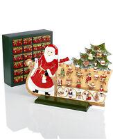 Villeroy & Boch CHRISTMAS TOYS MEMORY:  ADVENT CALENDAR SANTA & SLEIGH #9596