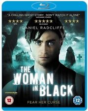 The Woman In Black (Blu-ray, 2012) Horror FREE SHIPPING