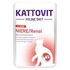 Kattovit Feline Diet Niere / Renal With Beef Pouch 85 G - 24 Piece