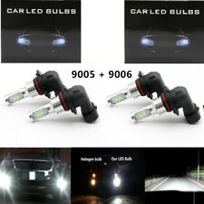 Combo 9005 + 9006 CSP LED Headlight Bulbs High Low Beam 100W 7000LM Super Bright