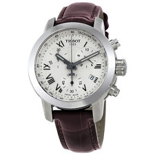 Tissot T-Sport Chronograph Silver Dial Ladies Watch T055.217.16.033.01