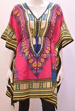 Talla Grande De Moda hippy boho tribal azteca Remolino Africano corto Caftán