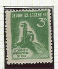 ARGENTINA;   1932 early Refrigerating Congress issue Mint hinged 3c. value
