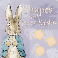 Peter Rabbit Shapes Board Book - New