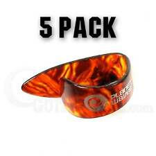 D'Addario Planet Waves Shell Thumbpick Players Pack - 5 Pack - Medium