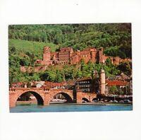 AK Ansichtskarte Heidelberg / Brücke und Schloss - 1976