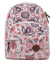 WOMEN'S GIRLS ROXY HARMONY FLORAL BACKPACK MULTI LOGO  SCHOOL BAG NEW $55