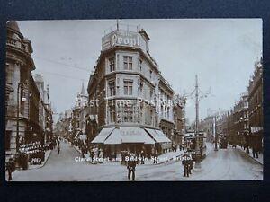 BRISTOL Clare Street & Baldwin Street c1905 RP Postcard by Burgess & Co.