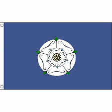 Yorkshire (Old) Small Flag 3Ft X 2Ft English County With 2 Metal Eyelets New