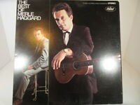 The Best of Merle Haggard   Capitol Records  SKAO 2951 LP VG++ cover VG+