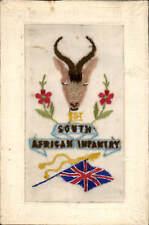 World War 1 Regimental Silk. South African Infantry by Gale & Polden.
