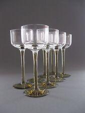 Glas Zwei Ausgefallen Schöne Weingläser Original Aus Der Zeit Des Art Deco Um 1940