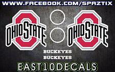 Ohio State Buckeyes OSU Cornhole Decal 6 pc Set Football basketball game