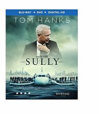 Sully (Blu-ray/DVD, 2016, 2-Disc Set) NEW