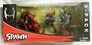 Spawn Weapons of Mass Destruction 3 Figure Set   RARE