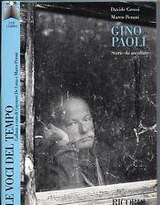 GINO PAOLI  box CD + LIBRO  2004  LE VOCI DEL TEMPO