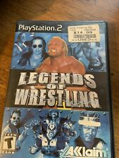Legends of Wrestling Video Game PS2 Sony PlayStation 2 Hulk Hogan WWE WCW