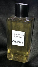 Vtg CHANEL Men's A Gentleman's Cologne Bottle Factice Dummy Store Display 1953