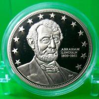 ABRAHAM LINCOLN COMMEMORATIVE COIN PROOF VALUE $79.95